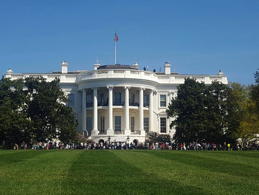 AP WHITE HOUSE INTRUDER A USA DC
