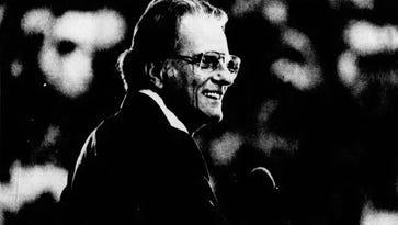 Billy Graham: Remembering his visits to Burlington