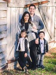 Port Huron native Scott Matzka poses with his family.