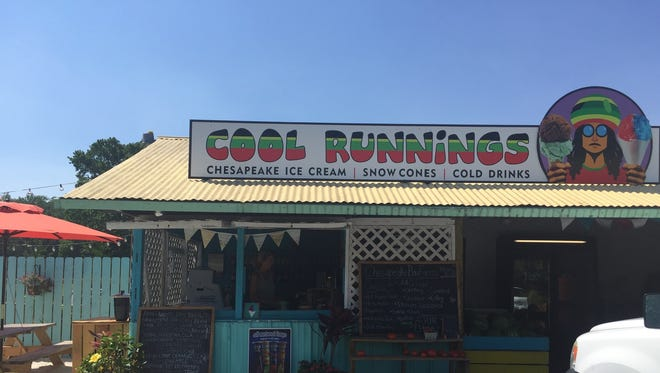The Cool Runnings stand, located on Rt. 611.