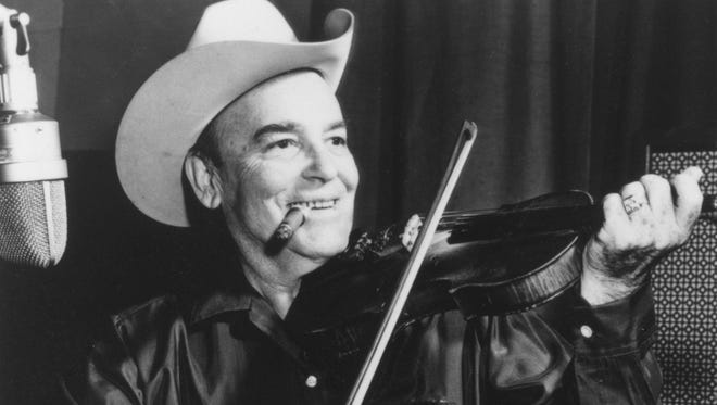 Country Music Hall of Fame member and Western Swing pioneer Bob Wills