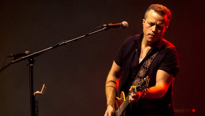 Jason Isbell & the 400 Unit Performs at Murat Theatre at the Old National Centre on Jan. 27, 2018.
