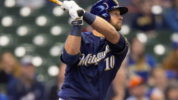 After a crazy 2015 season that ended in the World Series with the Mets, outfielder Kirk Nieuwenhuis was claimed off waivers by the Brewers in December.
