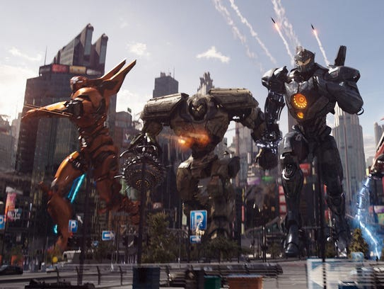 """The battle is on in """"Pacific Rim Uprising."""""""