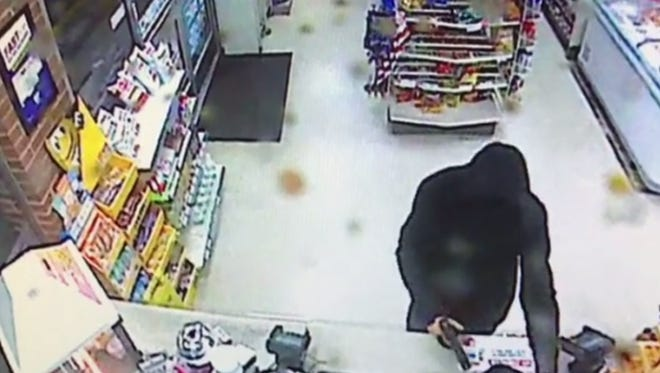 Suspect in armed robbery at a 7-11 in New Oxford on Aug. 21.