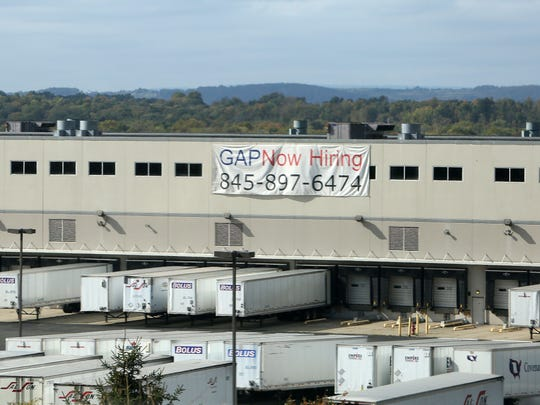 The loading dock of the GAP building in East Fishkill