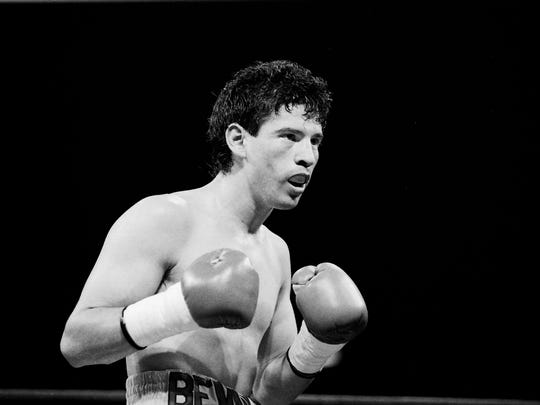 Jesse Benavides won the WBO super bantamweight belt in 1991.