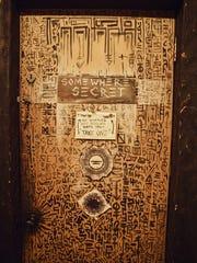 The door to Somewhere Secret.
