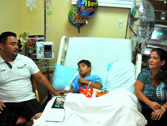Shark bite leaves Florida boy in hospital