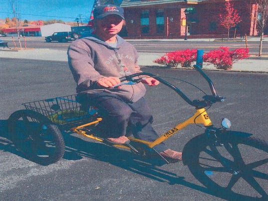 Carson City deputies search for handicapped man's bike