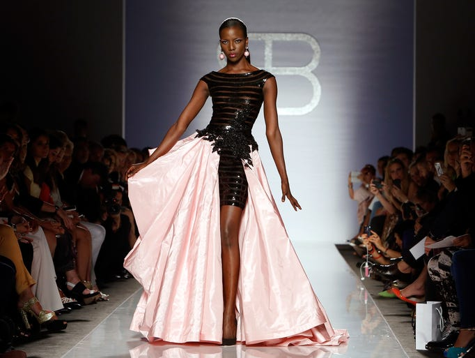 ROME, ITALY - JULY 15:  A model walks the runway during Renato Balestra F/W 2014-15 Italian Haute Couture colletion fashion show as part of AltaRoma AltaModa Fashion Week at Santo Spirito In Sassia on July 15, 2014 in Rome, Italy.  (Photo by Elisabetta Villa/Getty Images)