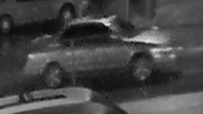 Police are asking for the public's help identifying this silver sedan used as the getaway car in the slaying of Al Baker Dec. 4, 2016.