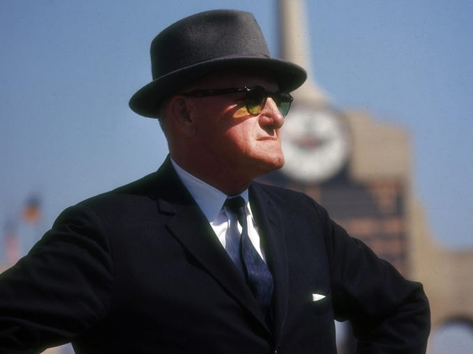 Led by George Halas, the Bears appeared in four consecutive