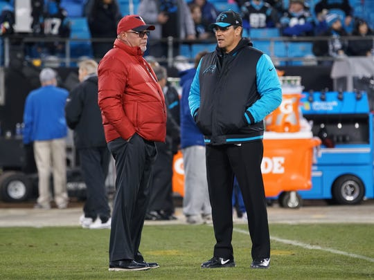 """Bruce Arians (left) steals the show in """"All or Nothing: A Season with the Arizona Cardinals."""""""