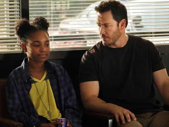 Saniyya Sidney as Amy and Mark-Paul Gosselaar as Brad