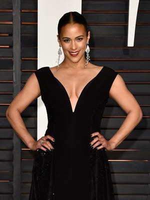 Paula Patton attends the 2015 Vanity Fair Oscar Party hosted by Graydon Carter at Wallis Annenberg Center for the Performing Arts on February 22, 2015 in Beverly Hills, California.