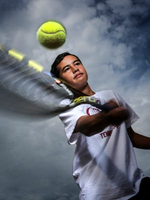 Q-Up Xavier Ecarma is a student at Sayers Classical Academy and wants to be a professional tennis player. June 27, 2016