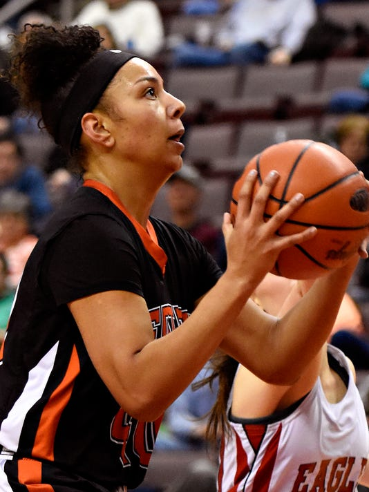 Central York vs Cumberland Valley D-3, Class 6-A girls basketball Semifinal