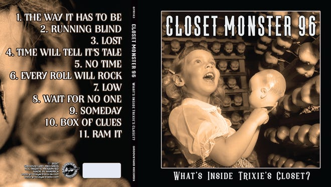 """Closet Monster, a Sioux Falls hard rock band from the nineties, is re-releasing their album """"What's Inside Trixie's Closet?"""""""