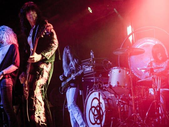 Led Zeppelin tribute act Zoso