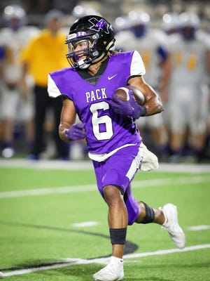 Micah Ross (6) is expected to be a big-time play maker on defense as well as working on the offensive side of the ball at wide receiver for Anna High School.