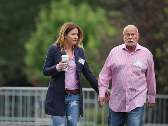 Peter Karmanos, majority owner and chief executive