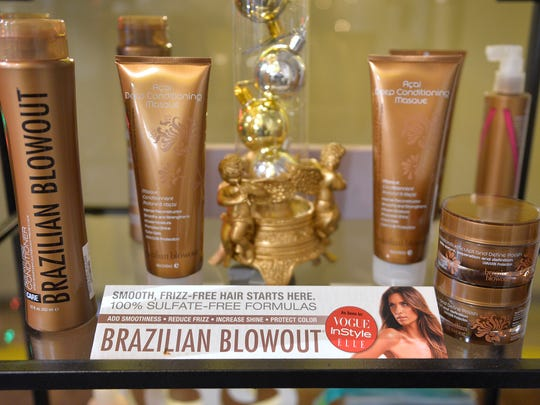 Brazilian Blowout offers products to straighten and smooth hair that also add shine.
