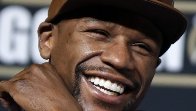 Floyd Mayweather takes his unbeaten 47-0 record into Saturday's showdown against Manny Pacquiao in Las Vegas.
