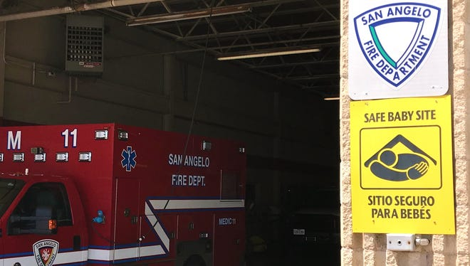 "A ""Safe Haven"" site at San Angelo Fire Station #1, 306 West 1st Street."