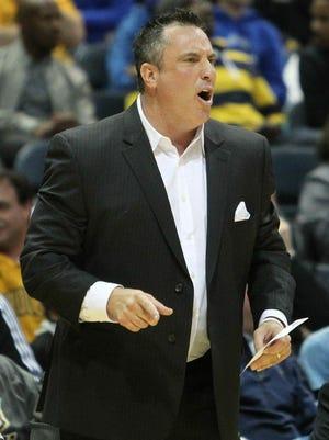 UT Martin coach Heath Schroyer