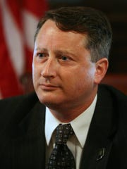 Carl Brizzi defended ousted Indiana Secretary of State Charlie White (pictured) at his 2012 trial on perjury, theft and voter fraud charges.