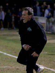 Midwestern State head men's soccer coach Doug Elder