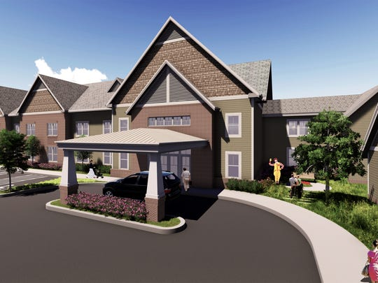 Rendering of the Ronald McDonald House expansion.