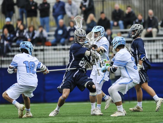 CBA against Manasquan  at Monmouth University in West