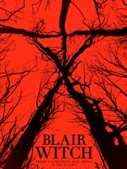 "The poster for the new ""Blair Witch."""