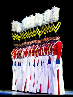 The Parade of the Wooden Soldiers is a cornerstone of the Radio City Christmas Spectacular starring the Rockettes.