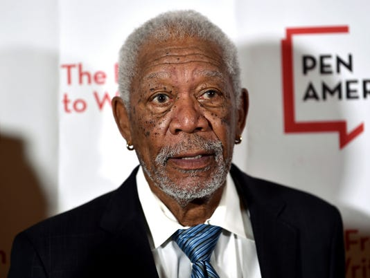 AP MORGAN FREEMAN-ACCUSATIONS A ENT FILE USA NY