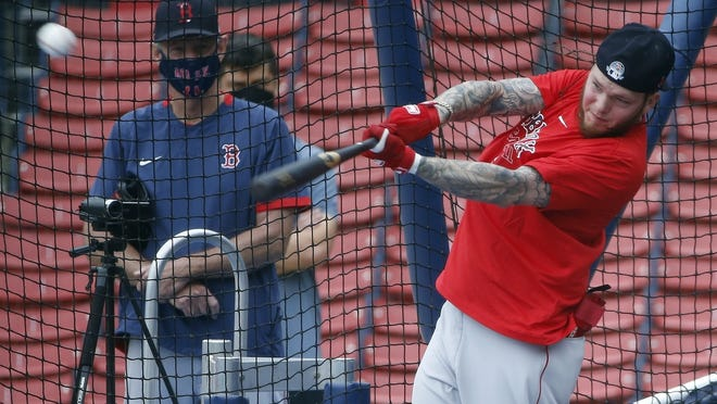Boston's Alex Verdugo has turned some heads with his performance in camp.