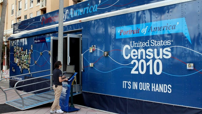 The 2010 Census Portrait of America Tour visited West Palm Beach in February 2010.