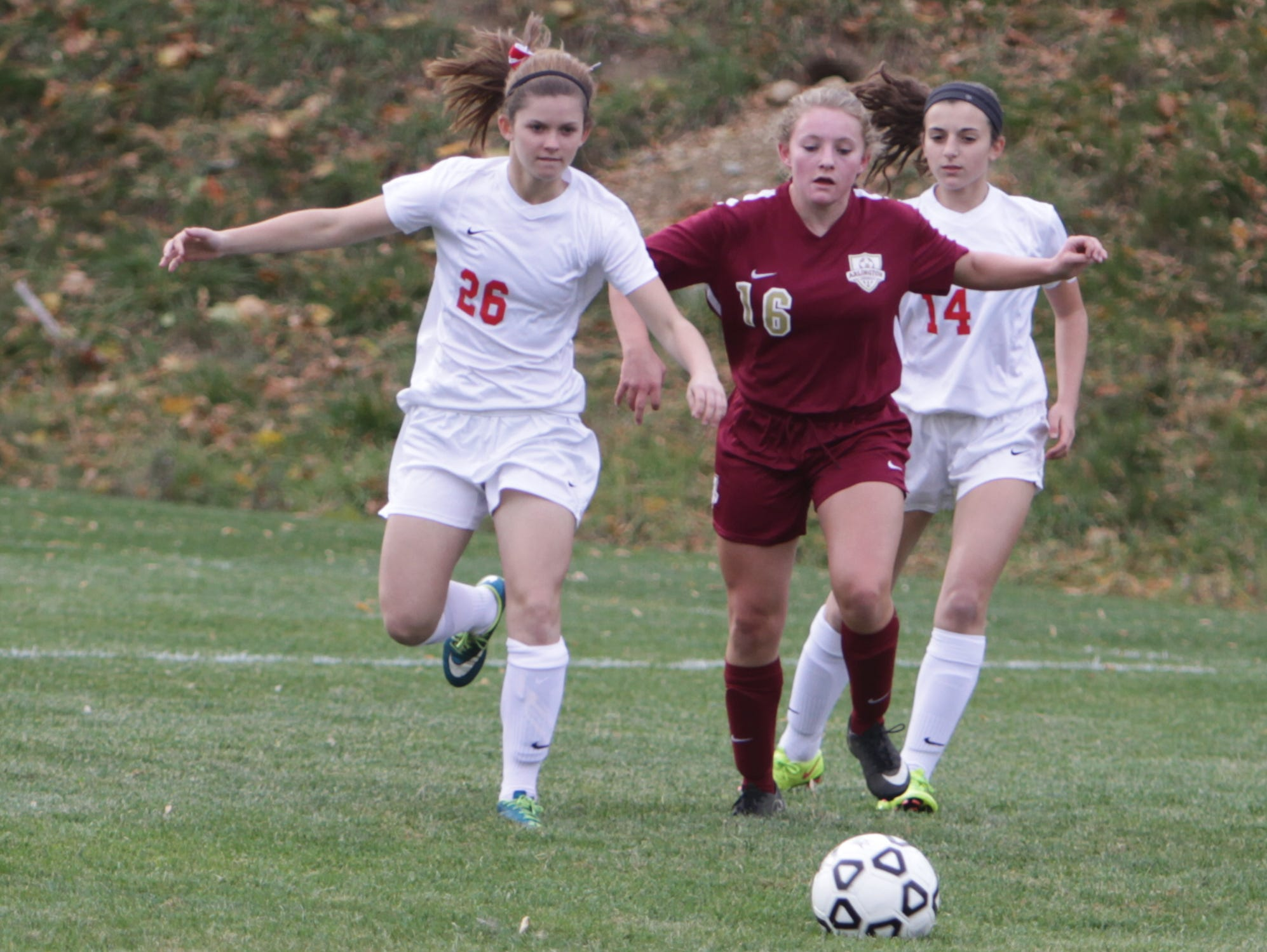 North Rockland defeated Arlington 2-0 in a Section 1, Class AA quarterfinal game at North Rockland High School on Tuesday, October 27th, 2015.