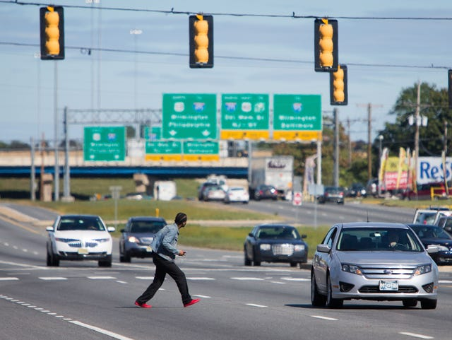 Delaware is most dangerous state for pedestrians