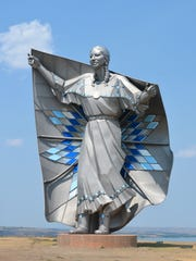 """Dave Lamphere, sculptor of """"Dignity,"""" will be speaking"""