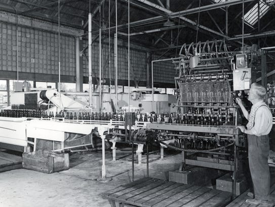 Reno Brewing Company bottle capping equipment is seen
