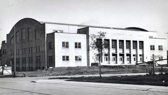 Sheboygan Armory circa 1942