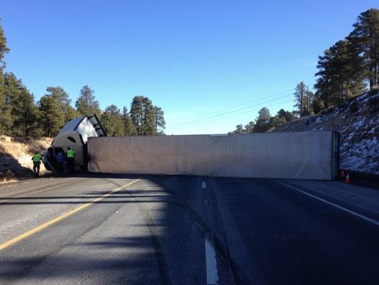 Flagstaff big rig crash