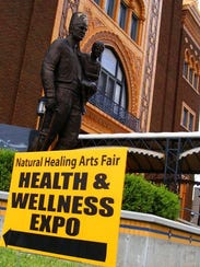 The 13th annual Healing Arts Fair is today and tomorrow