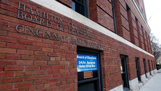 The Hamilton County Board of Elections.
