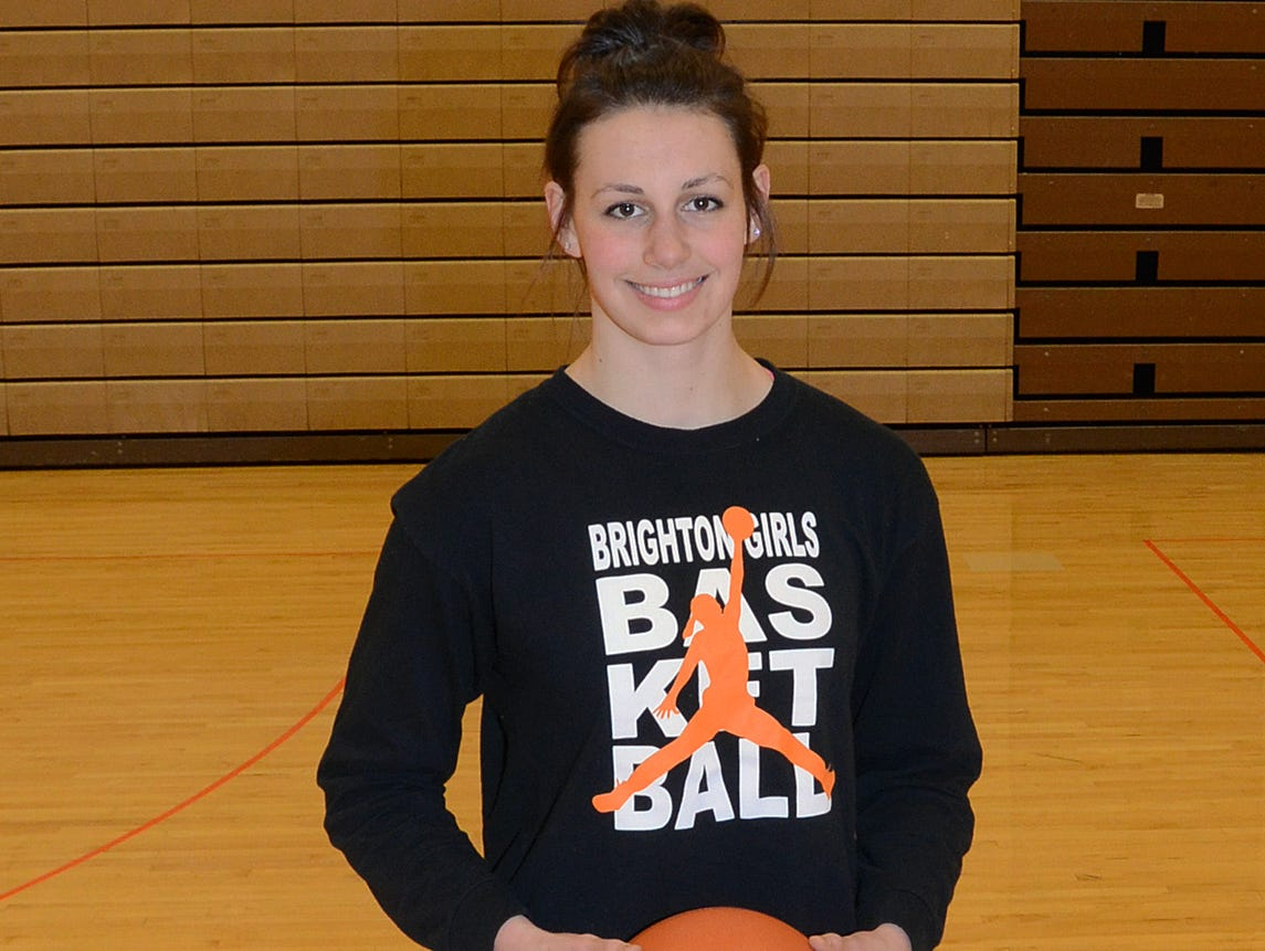 Cori Crocker made the adjustment from being a bench player in Grand Ledge to a standout in Brighton as a senior, earning All-County player of the year honors.