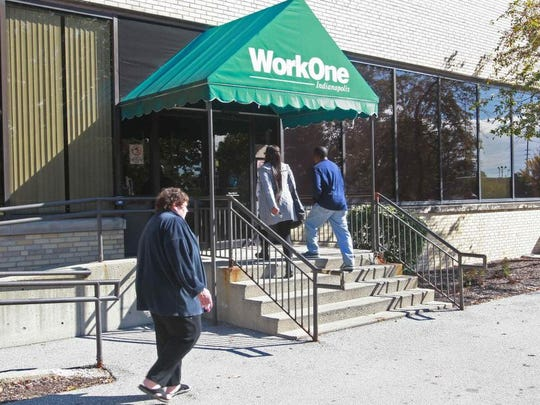Indiana's WorkOne centers are where Hoosiers apply for unemployment.