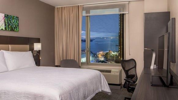 Some rooms at the Hilton Garden Inn NYC Financial Center/Manhattan